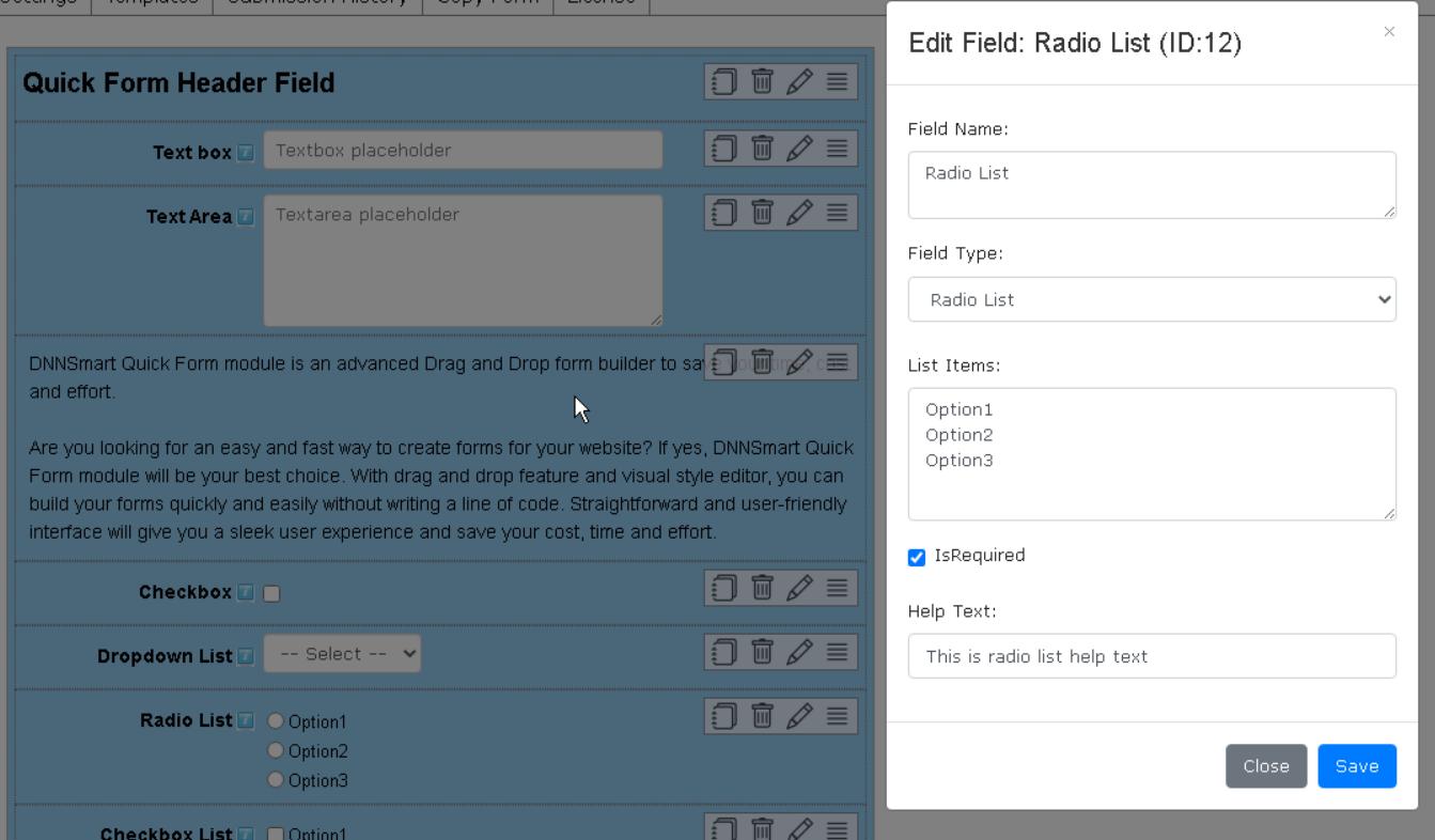 Edit Field