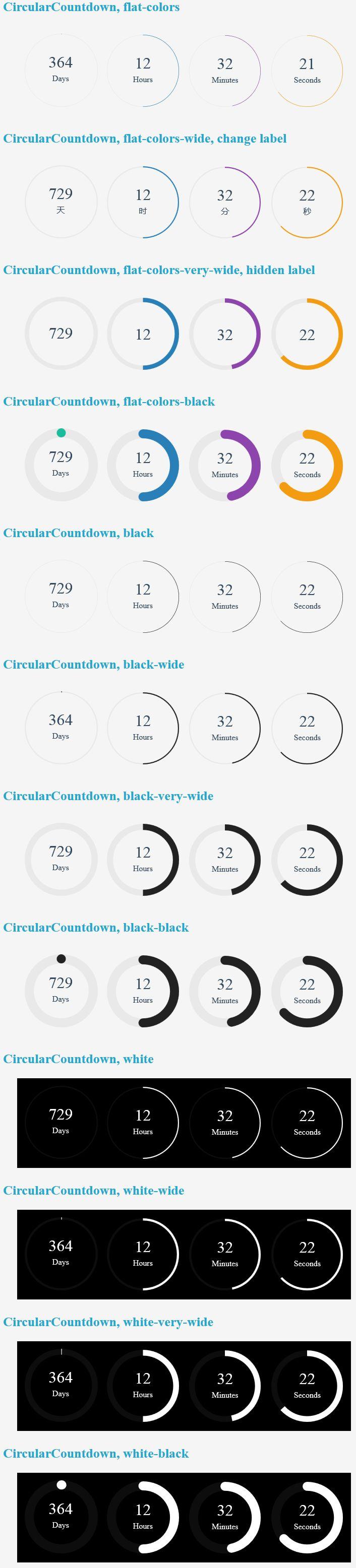 Circular Countdown